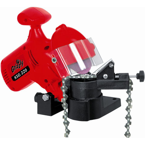 Image of Grizzly Grizzly KSG 220 Electric Chainsaw Chain Sharpener