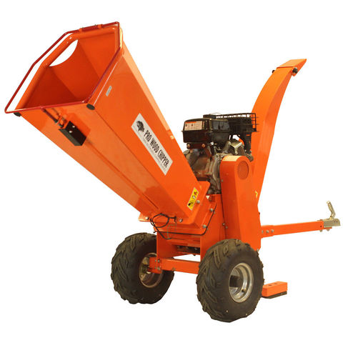 Image of Forest Master Forest Master 13HP Wood Petrol Wood Chipper and Shredder