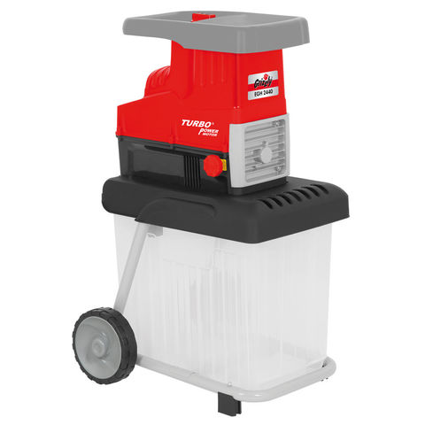 Image of Draper Grizzly GHS2842B Large 2800Watt Garden Shredder