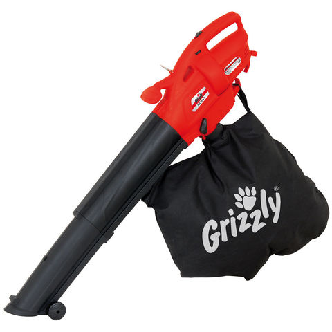 Grizzly Grizzly ELS2614E 2600Watt Electric Leaf Blower/Vacuum (230V)