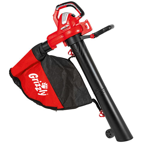 Grizzly Grizzly ELS 3027E Electric Leaf Blower/Vac (230V)