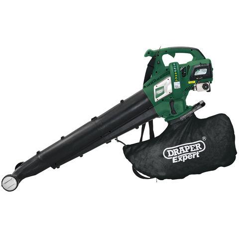 Image of Draper Draper Expert BP30A 30cc Petrol Vacuum/Blower and Mulcher