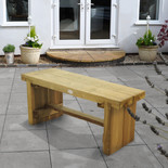 Forest 45x120x35cm Double Sleeper Bench