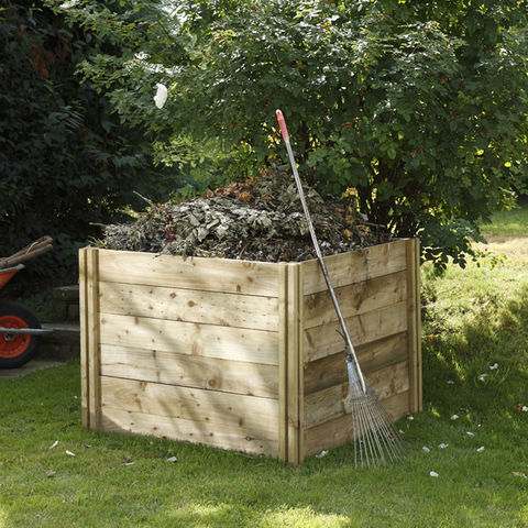 Image of Forest Forest 120x103x103cm Slot Down Composter