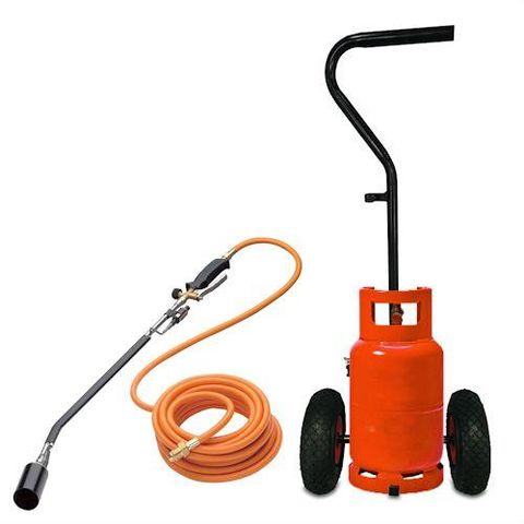 Image of Sherpa Sherpa STJH-1711 Gas Weed Burner and Trolley Kit