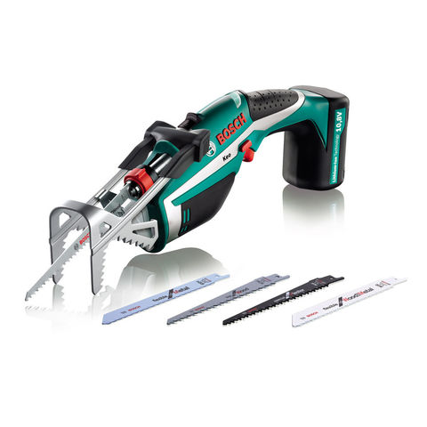 Image of Machine Mart Xtra Bosch Keo 10.8V Cordless Garden Saw Set