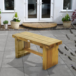 Forest 0.9m Double Sleeper Bench
