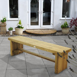 Forest 1.5m Double Sleeper Bench