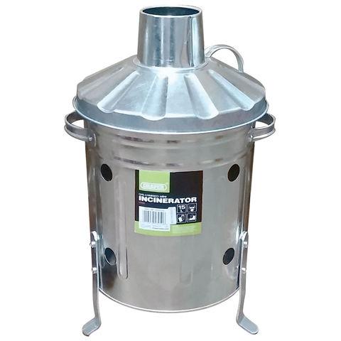 Image of Draper Draper 15L Galvanised Mini Incinerator