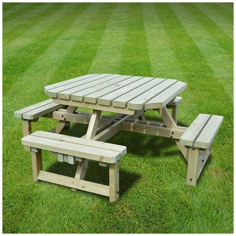 Image of Rutland County Rutland County WJOB1-LGR Whitwell Junior Octagonal Bench