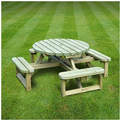 Image of Rutland County Rutland County WJCB1-LGR Whitwell Junior Circular Bench
