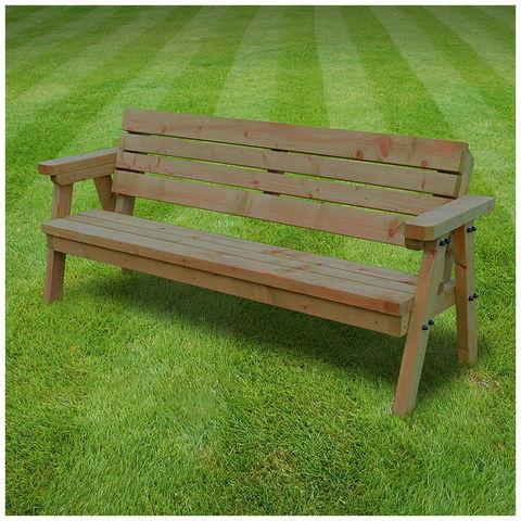 Image of Rutland County Rutland County TGSJ4-RBR Thistleton Junior Garden Seat - 4ft