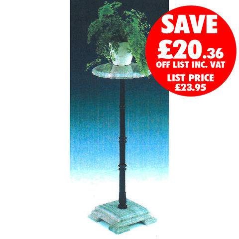 Clarke Clarke GMPS-2 Green Marble Plant Stand