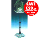 Clarke GMPS-2 Green Marble Plant Stand