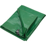 Clarke 10ft x 12ft (Approx) Heavy Duty Green Polyethylene Tarpaulin