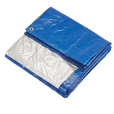 Clarke Clarke 16ft x 20ft (Approx) Blue & Silver Polyethylene Tarpaulin