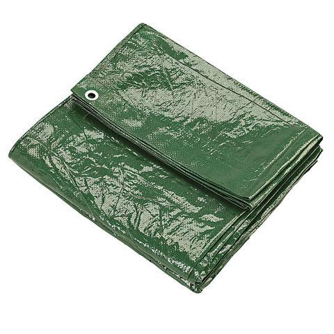 Clarke Clarke 10ft x 12ft (Approx) Green Polyethylene Tarpaulin