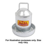 Parasene ELTEX 1/2 Gallon Galvanised Drinker