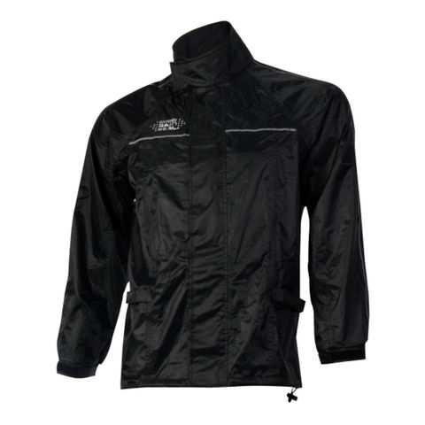 Machine Mart Xtra Oxford Rain Seal Black All Weather Over Jacket S