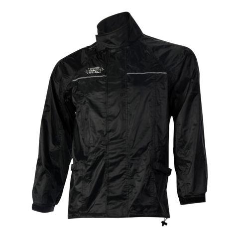 Machine Mart Xtra Oxford Rain Seal Black All Weather Over Jacket M