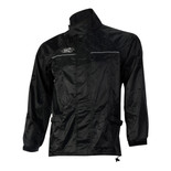 Oxford Rain Seal Black All Weather Over Jacket (XXXXL)