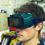 Flip-up Gas Welding Goggles