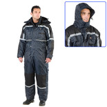 Dickies Padded Waterproof Overall Blue - XL