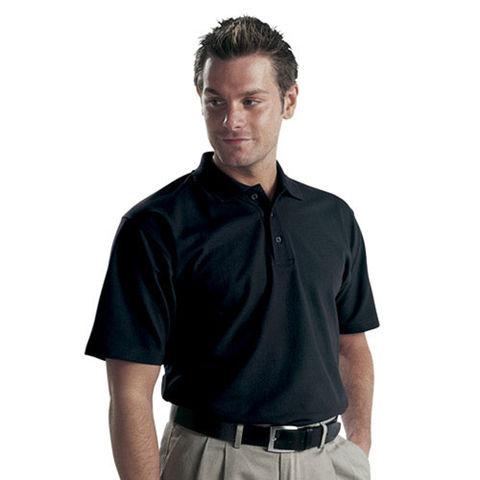 Dickies Dickies Short Sleeved Polo Shirt Black