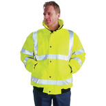 Dickies High Visibility Bomber Jacket Small