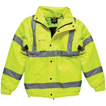 Dickies High Visibility Bomber Jacket Large