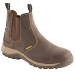 DeWalt Radial Safety Dealer Boot Brown Size 10