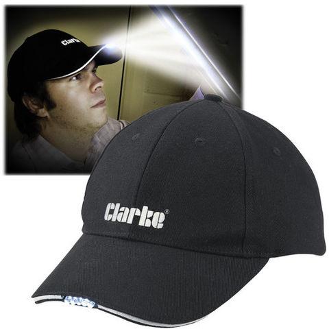 Image of Clarke Clarke BBC-5 Baseball Cap with LED Lights