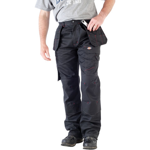 "Image of Dickies Dickies Black Redhawk Pro Trousers (34"" Tall)"
