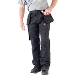 "Dickies Black Redhawk Pro Trousers (34"" Tall)"