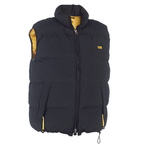 Image of Cat Cat® - Black Quilted Insulated Vest (S)