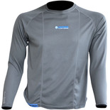 Oxford Cool Dry Mens Long Sleeve Under Layer Top (S)