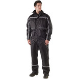 Dickies Dartmouth Waterproof Coverall In Black (Extra Large)