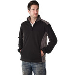 Dickies Two Tone Micro Fleece In Black & Grey (Extra Extra Large)
