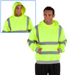 Dickies Hi-Vis Hooded Sweatshirt Large