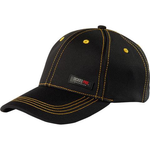 Image of Dickies Dickies DP1003 Pro Cap, Black/Yellow