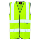 Dickies Children's High Visibility Safety Waistcoat 4-6 years