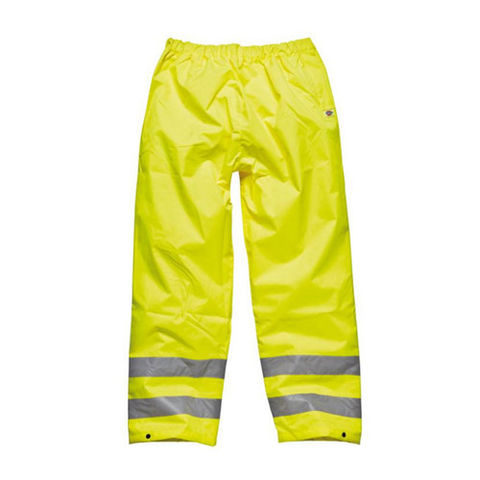 Image of Dark Nights Dickies 'Highway' High Visibility Safety Trousers - L