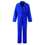 Dickies Redhawk Zip Front Coverall Royal Blue - 44T