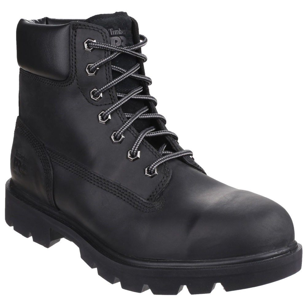 Timberland PRO® Sawhorse Lace up Safety Boot Black Size 10 ... af9799fbd39b