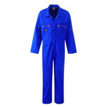 Dickies Redhawk Zip Front Coverall Royal Blue Junior 30