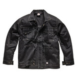 Dickies IN30010 Two Tone Work Jacket Black/Black L