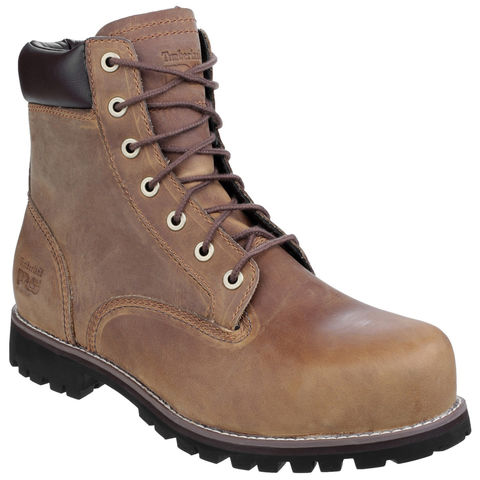 Image of Timberland Pro® Timberland PRO® Eagle Gaucho Safety Boot Brown Size 8