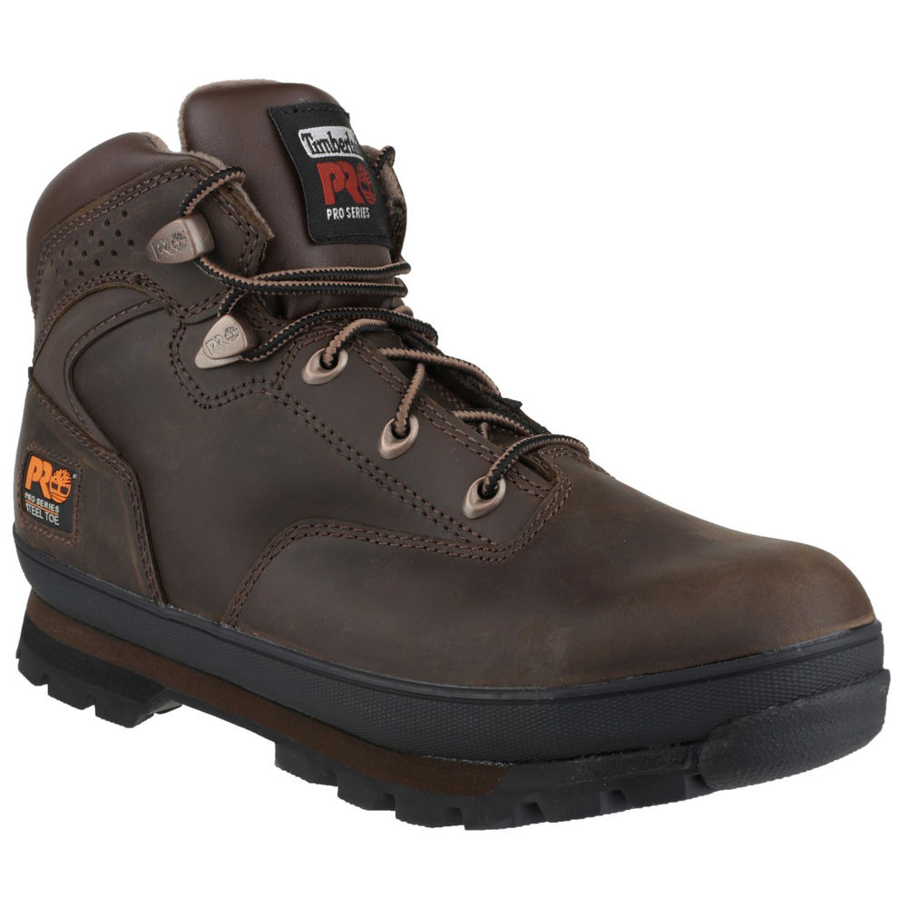 360b7228a50b Timberland PRO® Euro Hiker Lace up Safety Boot Brown Size 7 ...