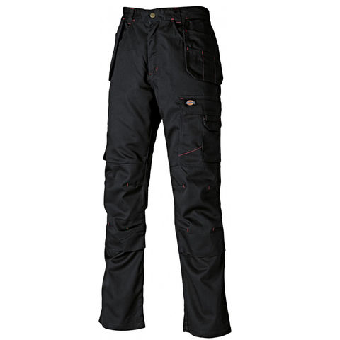 "Image of Dickies Dickies Black Redhawk Pro Trousers (32"" Tall)"