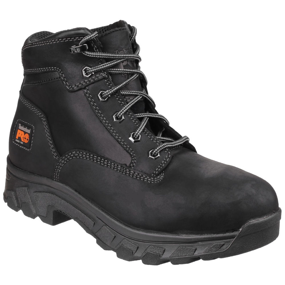164c74dc28f Timberland PRO® Workstead Black Water Resistant Lace up Safety ...
